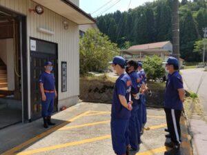 雄神分団 令和3年度特別訓練実施中 🚒 次世代への継承☆彡