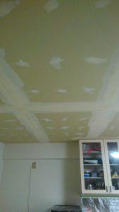 天井復旧工事