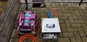 高圧洗浄機・コンプレッサー