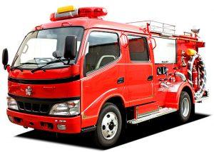 消防ポンプ車両