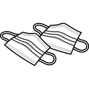 「タキノマスク」共同住宅入居者様に配布される!!👣