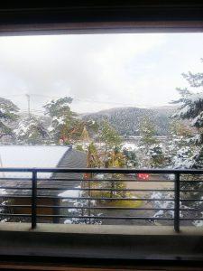 川金の部屋からの景色
