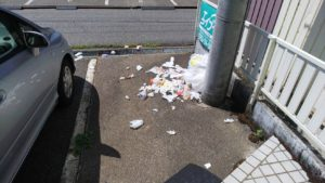 ゴミの捨て方マナー違反 罰金と即刻退去の対応!!「良く重ねる自分の人生」☆彡