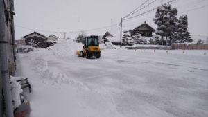 「大雪だから総出で除雪」 オーナーさまよりご報告頂きました!!心配事解消の瞬間☆彡