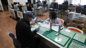 南砺市空き家バンク活用促進事業補助金の申請手続きに同行しました!!