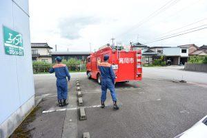 福岡消防署(高岡市)からの予防査察実施について(予防啓発)