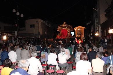 砺波 出町子供歌舞伎曳山祭