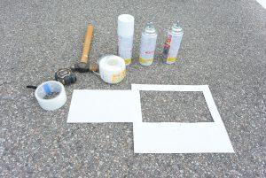 白線引き用道具