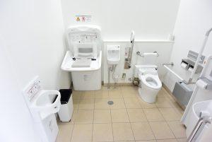 となみチューリップ公園のトイレ