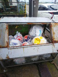 指定外ゴミ袋による投機