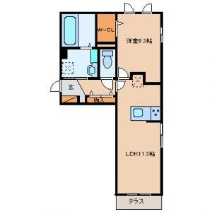 砺波市太郎丸 新築アパート『ファミリオールA』